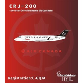 HYJL Wings CRJ200 Air Canada Star Alliance C-GJQA 1:200
