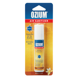 Ozium Ozium Air Sanitizer Freshener Vanilla Sent .8 Oz
