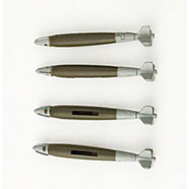 Hobby Master GBU-38 JDAM Joint Direct Attack Munition Set 1:72 (4 pieces) +NSI+