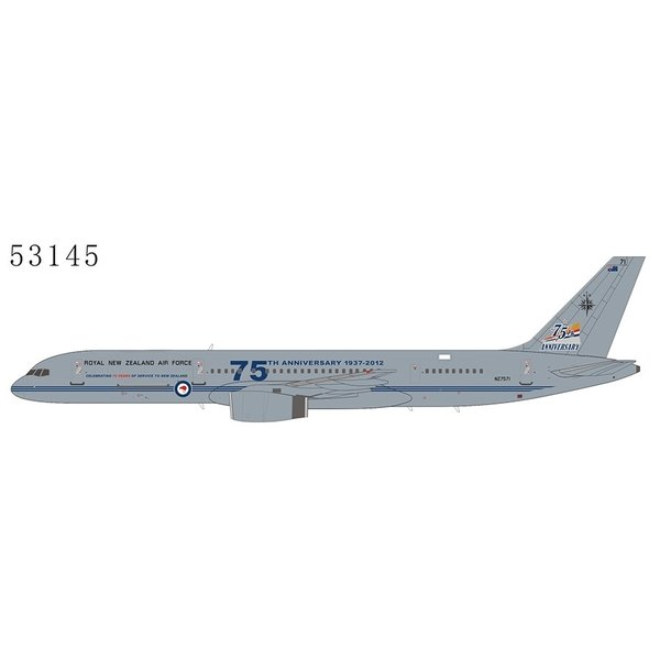 NG Models B757-200 RNZAF New Zealand Air Force 75th NZ7571 1:400