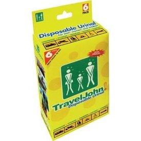 Travel John Disposable Urinal 6 Pack