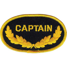 Patch Captain Oval