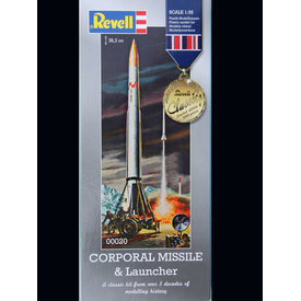 Revell Germany Corporal Missile & Launcher 1:40 Classic re-issue