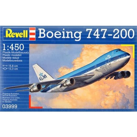 B747-200 KLM 1:450 [Ex-Heller]