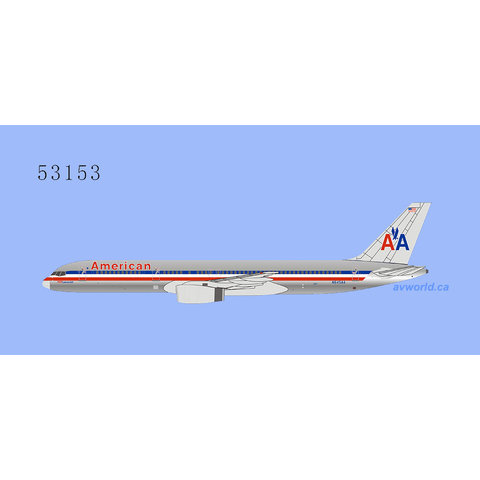 B757-200 American Airlines AA 757 Luxury Jet N645AA 1:400
