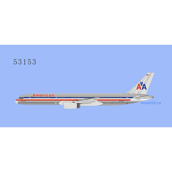 NG Models B757-200 American Airlines AA 757 Luxury Jet N645AA 1:400