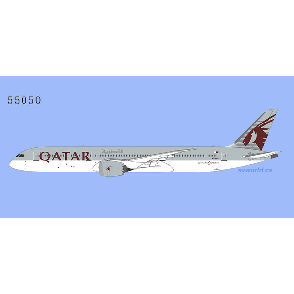NG Models B787-9 Dreamliner Qatar Airways A7-BHG 1:400