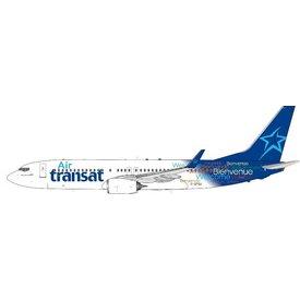 InFlight B737-800W Air Transat Welcome c/s C-GTQJ 1:200