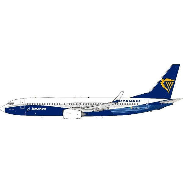 InFlight B737-800W Ryanair with Boeing colours EI-DCL 1:200 +Preorder+