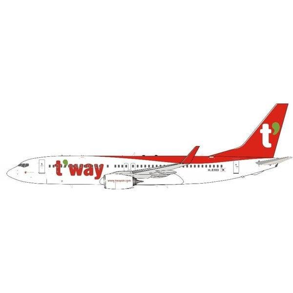 InFlight B737-800W T'way Air HL8300 1:200