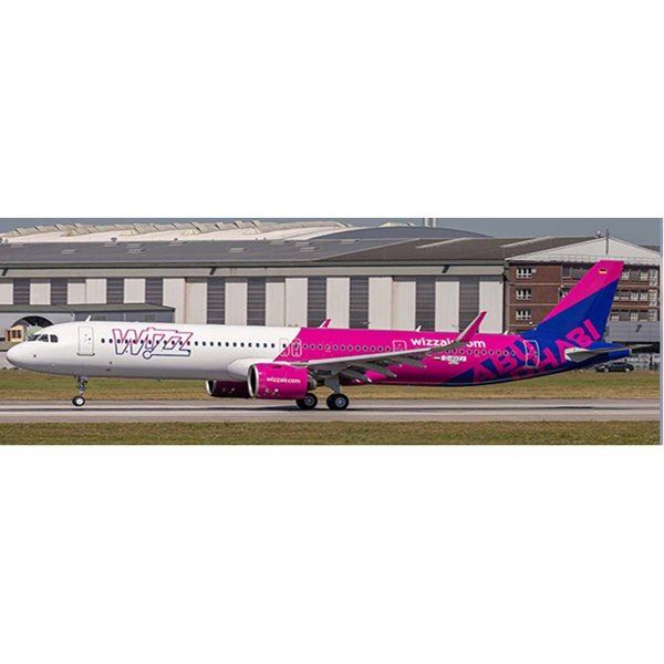 JC Wings A321neo Wizz Air Abu Dhabi A6-WZB 1:400 +Preorder+