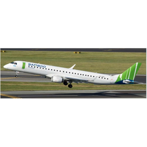 JC Wings ERJ190-200LR Bamboo Airways OY-GDC 1:400 +Preorder+