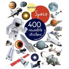 Space: Eyelike Stickers (400) softcover