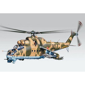 Revell MI24D HIND 1:48 Scale Kit [2012 issue]