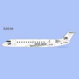 NG Models CRJ200LR Voyageur Airways United Nations C-FXLH 1:200