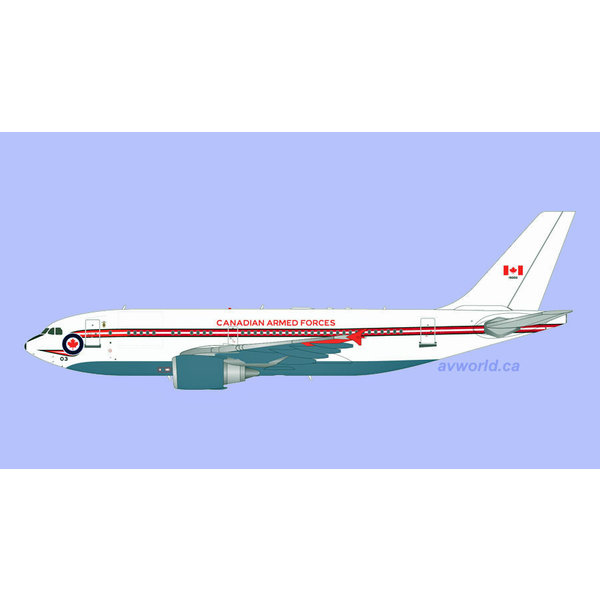 Gemini Jets CC150 A310-300 RCAF Retro livery 15003 1:200