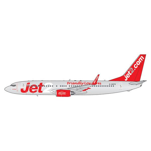 Gemini Jets B737-800W Jet2 Friendly Low Fares 1:400 +PREORDER+