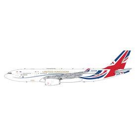 Gemini Jets A330-200MRTT Voyager KC3 RAF VIP Brexit Livery ZZ336 1:400 +PREORDER+