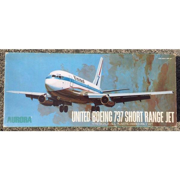 Aurora B737 United Short Range Jet 1:72 [1971 issue]