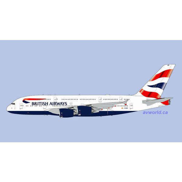 Gemini Jets A380-800 British Airways G-XLEC 1:200 +Preorder+