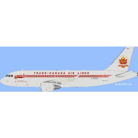 A319 Air Canada TCA Retro C-FZUH 1:200