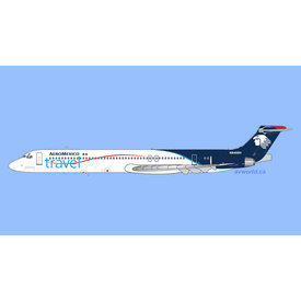 Gemini Jets MD83 Aeromexico Travel N848SH 1:400