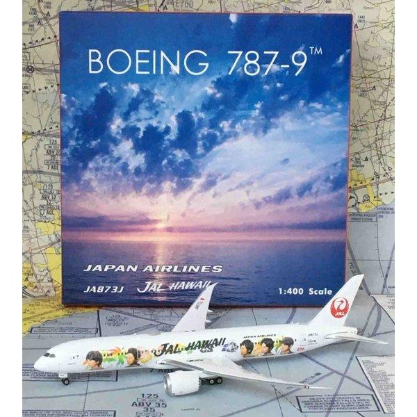Phoenix B787-9 Dreamliner JAL Arashi Hawaii JA873J 1:400