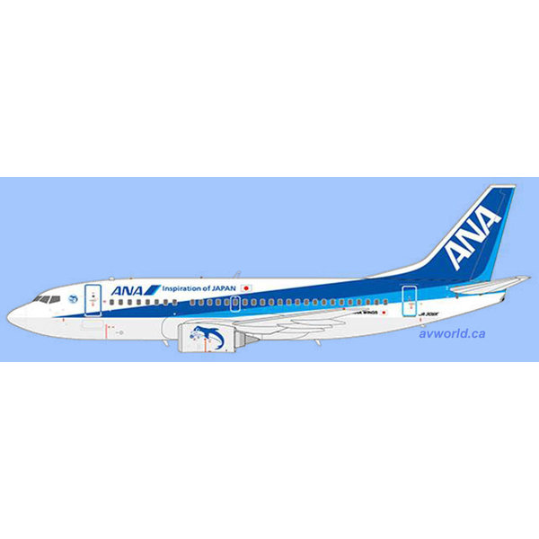 JC Wings B737-500 ANA Wings Farewell JA305K 1:200 (OB)