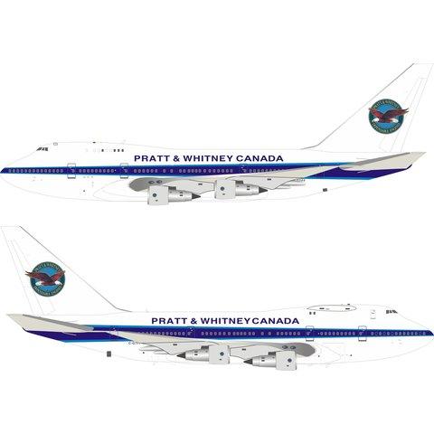 B747SP Pratt & Whitney Canada Testbed C-GTFF 1:200 +Preorder+