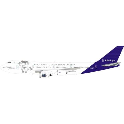 B747-200 Rolls-Royce Trent 1000 Testbed N787RR 1:200 +Preorder+