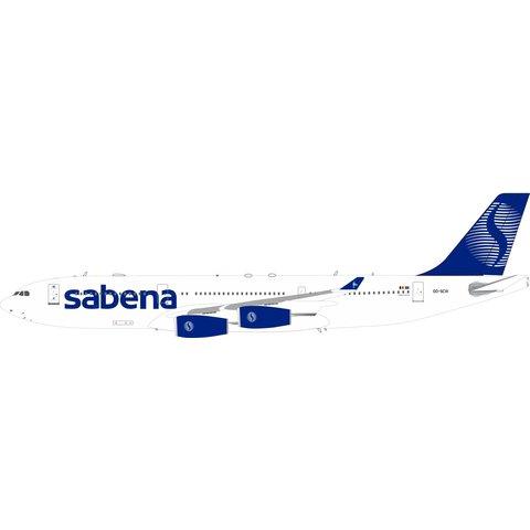 A340-200 Sabena final livery OO-SCW 1:200