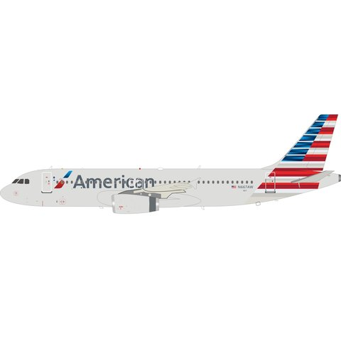 A320 American Airlines 2013 livery N667AW 1:200
