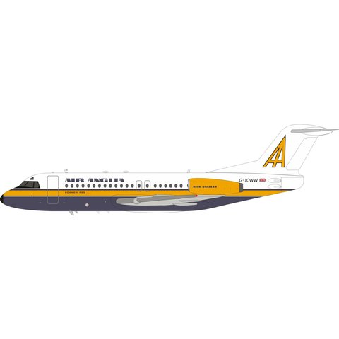 F28-4000 Fellowship Air Anglia G-JCWW 1:200 +Preorder+