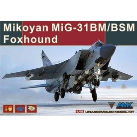 AMK AvantGarde Mig31BM/BSM 1:48