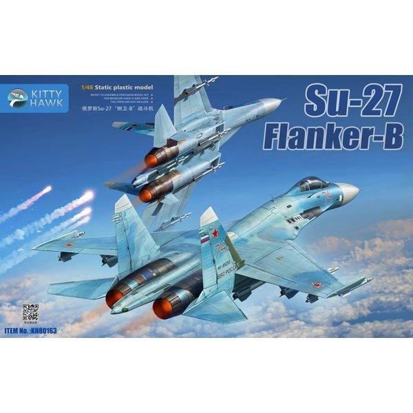 Kitty Hawk Models Su27S SM3 Flanker B 1:48