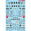 Caracal CH-47 Chinook Multiple international marking options 1:48 Decals