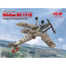 ICM Model Kits Bucker Bu-131B WWII German Training Aircraft 1:32