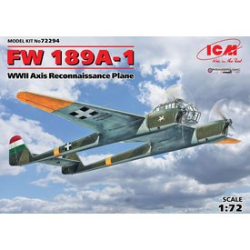 ICM Model Kits FW189A1 HUNGARIAN 1:72