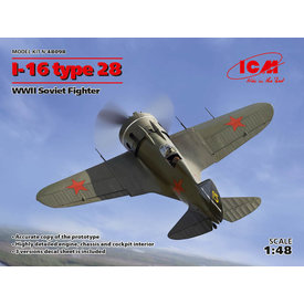 ICM Model Kits POLIKARPOV I16 TYPE 28 1:48