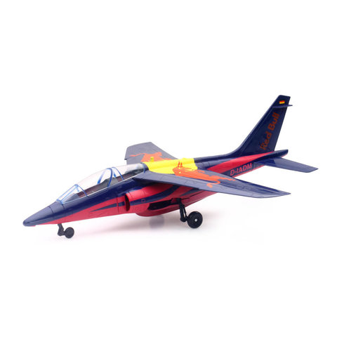 Alpha Jet Red Bull Flying Bulls 1:40 with stand