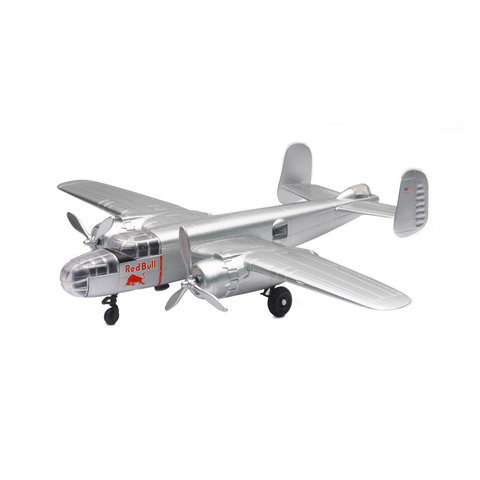 B25J Mitchell Red Bull Flying Bulls 1:72 with stand