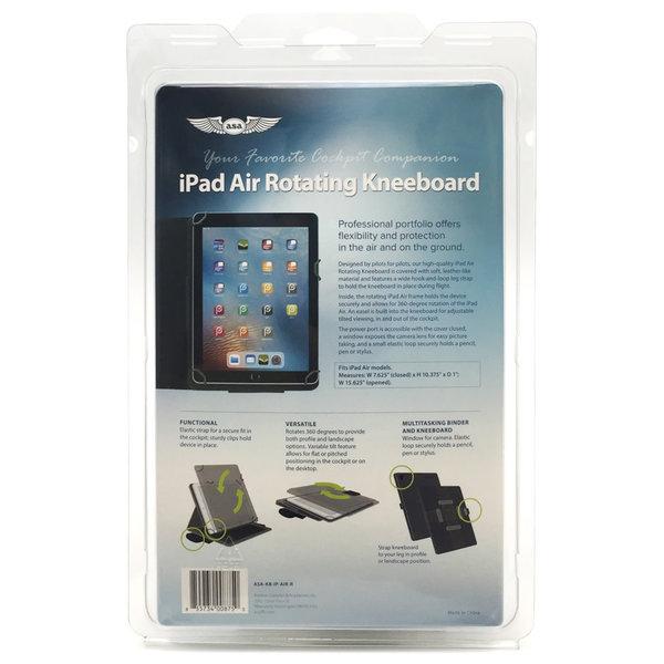 ASA - Aviation Supplies & Academics iPad Air Rotating  Kneeboard