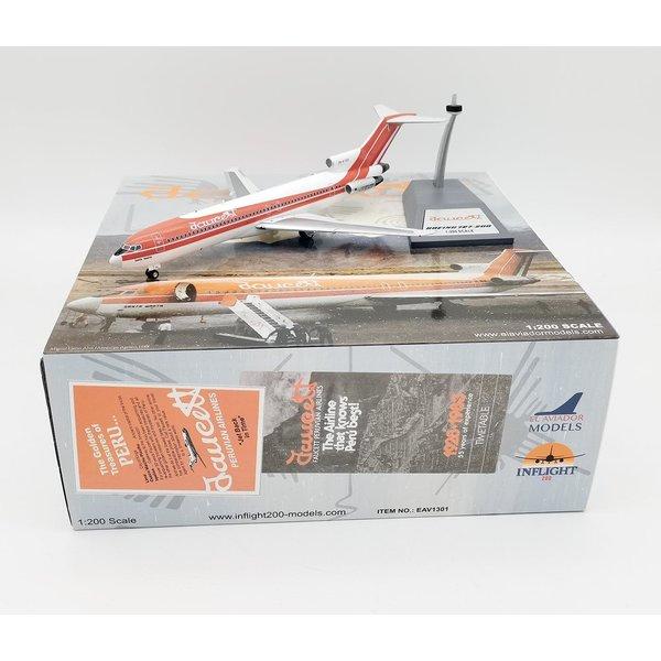 InFlight B727-200 Faucett Peru OB-R-1301 1:200