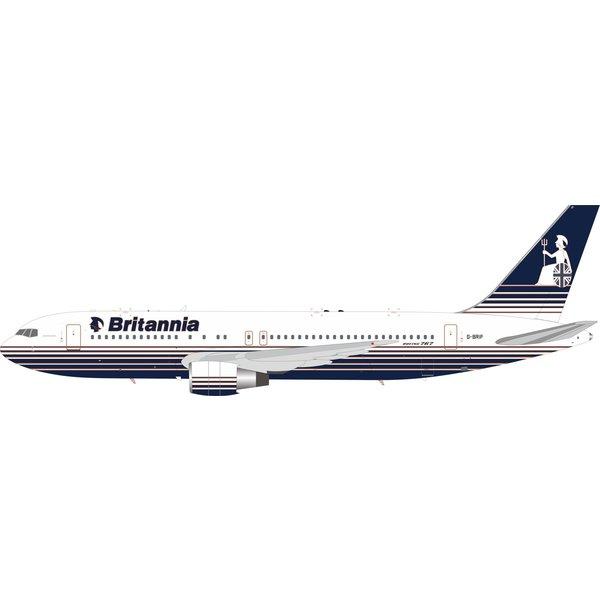 InFlight B767-200 Britannia Airways G-BRIF 1:200