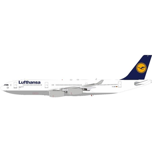 InFlight A340-200 Lufthansa old livery Lübeck D-AIBF1:200 +Preorder+