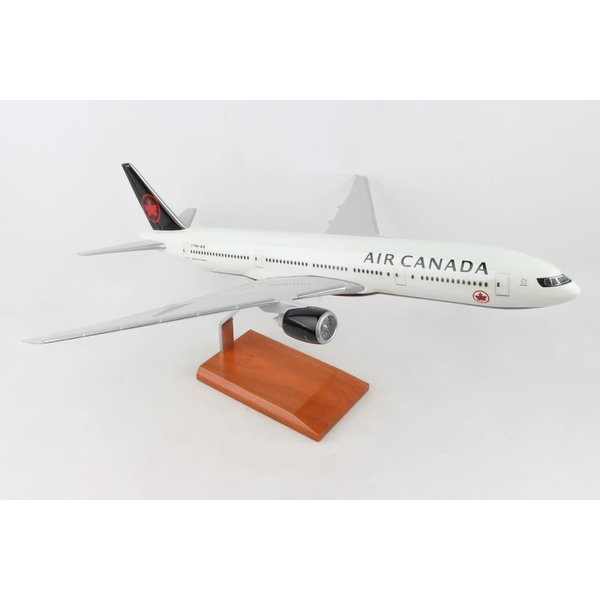B777-200 Air Canada 2017 livery 1:100 with stand (no gear)