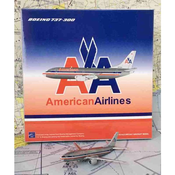 JC Wings B737-300 American AA old livery N678AA 1:400