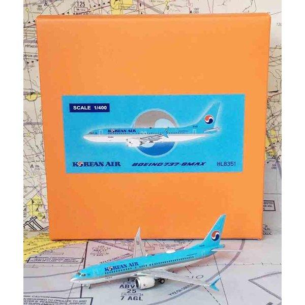 JC Wings B737 MAX8 Korean Air HL8351 1:400
