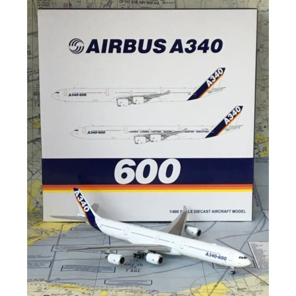 JC Wings A340-600 Airbus House Livery F-WWCC 1:400