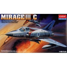Academy Mirage IIIC Israeli AF 1:48 [Ex-AC1622]